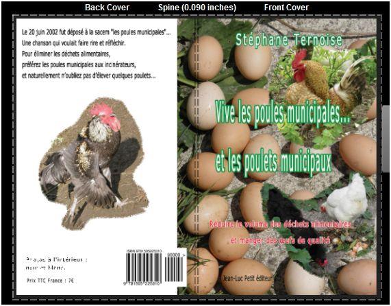 les poules municipales et les poulets municipaux